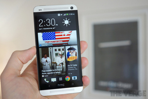 Gallery Photo: HTC One for AT&T review pictures