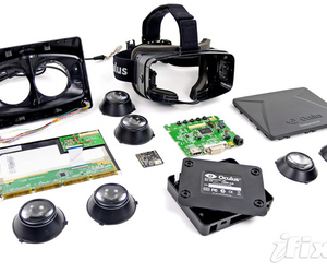 Oculus Rift iFixit teardown
