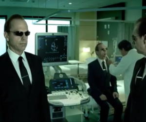 GE ad Agent Smith from The Matrix