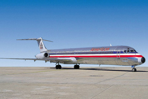 American Airlines grounded small