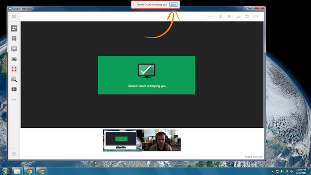 Google adds remote desktop to Hangouts, lets users simultaneously video chat and troubleshoot