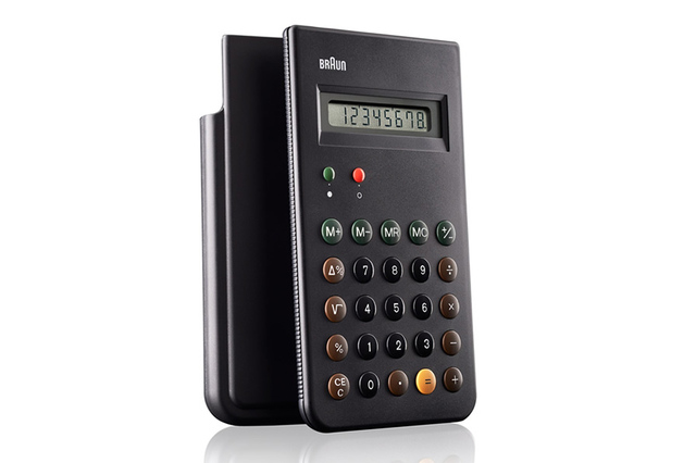 Braun ET66 calculator Dieter Rams