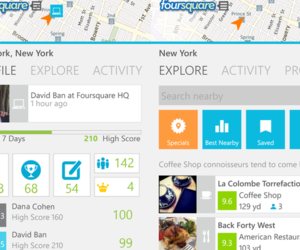 Foursquare Windows Phone 8