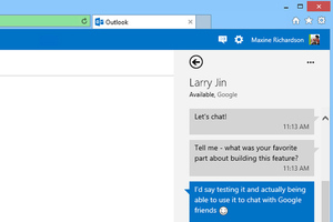 Outlook.com Google Talk