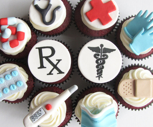 medical cupcakes