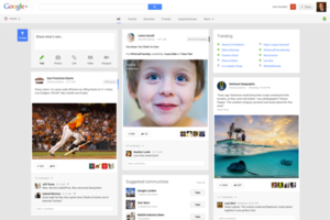 Google+ Stream redesign press