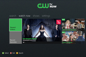 cw network xbox app