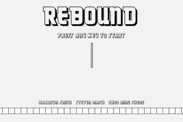 'Rebound' is a maddeningly simple physics game