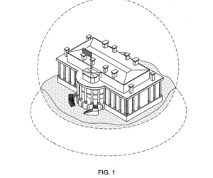 White House snow globe patent