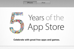 Apple App Store Fifth Anni (Credit: Apple)