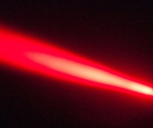 red laser beam (FLICKR CC)