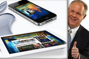 Rush Limbaugh Apple products (Credit: The Rush Limbaugh Show)