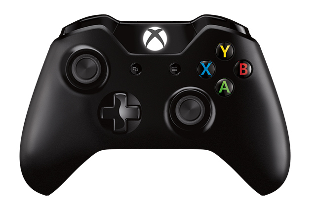 xbox one controller press image stock