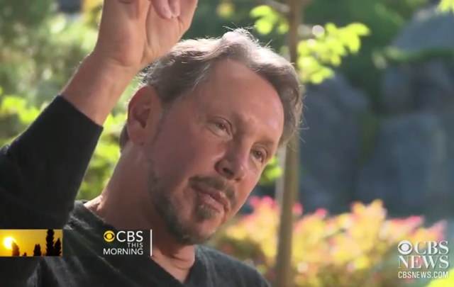Larry Ellison CBS