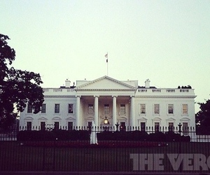 white house verge stock