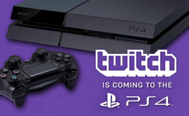 twitch playstation 4