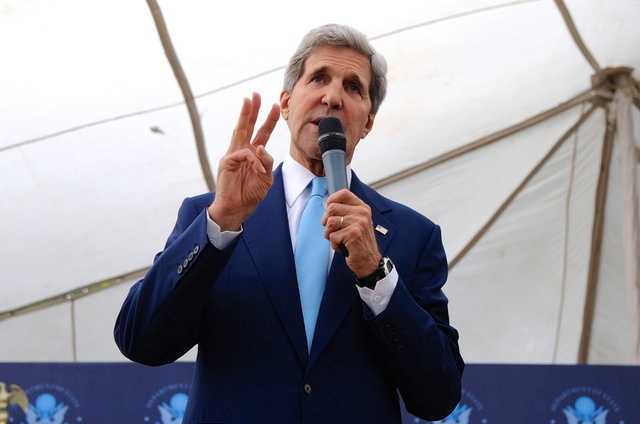 Sec. John Kerry (Credit: State Dept/Flickr)