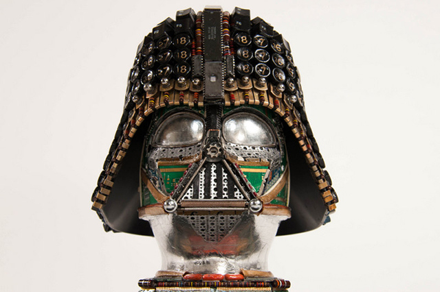 Upcycled Darth Vader (GABRIEL DISHAW)