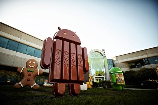 Android KitKat - название новой операционной системы от Google