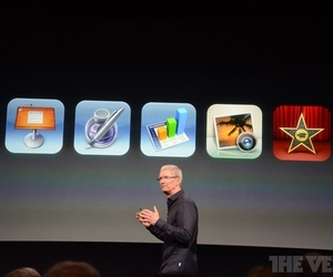 Gallery Photo: Photos of the iWork for iOS from Apple's September event