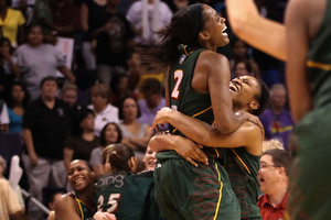Unrestricted free agent Swin Cash is probably the top player on the free agent market after helping the Seattle Storm to the 2010 WNBA title last year. (Photo by Christian Petersen/Getty Images)