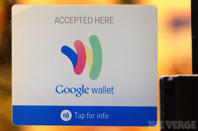 Google Wallet uses NFC for accepting payments using Android smartphones