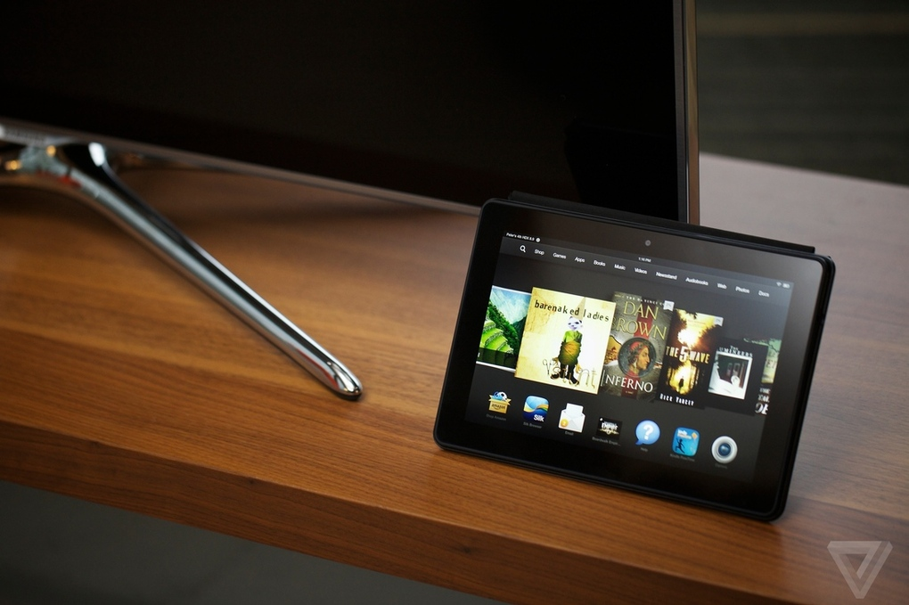Amazon's Kindle Fire HDX: power, with a helping hand