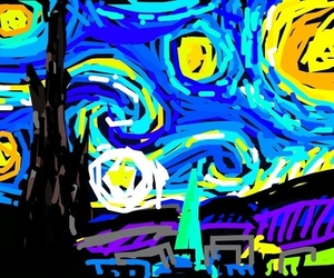 snapchat starry night