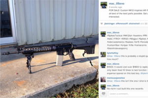 instagram gun for sale