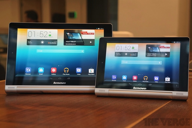 Lenovo Yoga Tablets