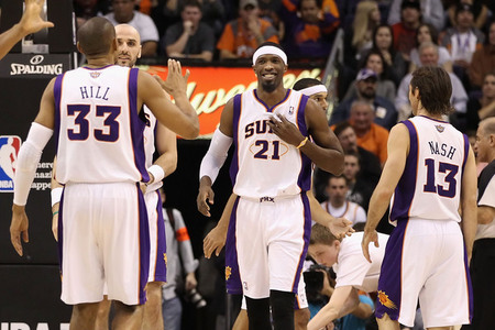 The Phoenix Suns have a lot more than 23 games left in them. (Photo by Christian Petersen/Getty Images)