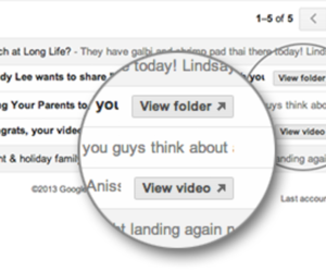 Gmail Quick Action YouTube