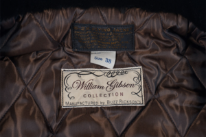 william gibson buzz rickson jacket