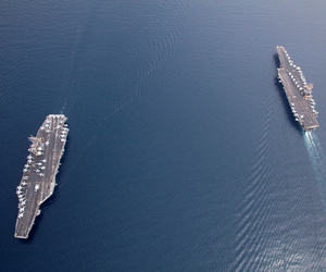 Aircraft carriers (US Navy/Flickr)