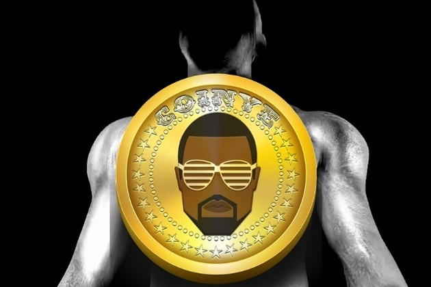 Kanye West-themed Bitcoin