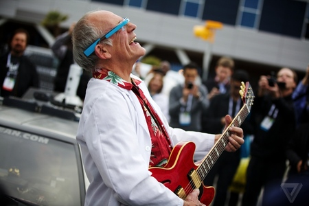 Gallery Photo: Christopher Lloyd and the DeLorean pictures