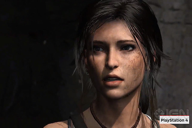 'Tomb Raider' for PS4 shows