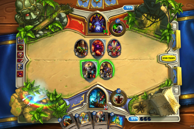 Blizzard's digital card game