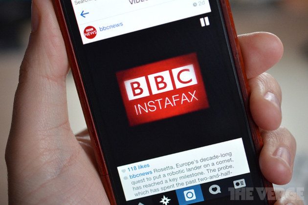 BBC tries Instagram video to