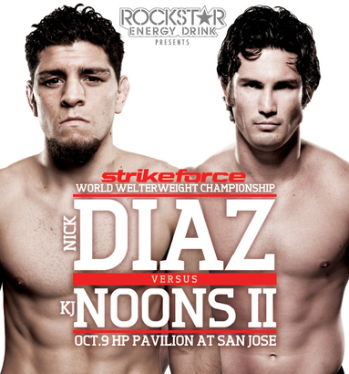 Nick Diaz and KJ Noons Verbally Agreed To A Rematch On October Strikeforce Event