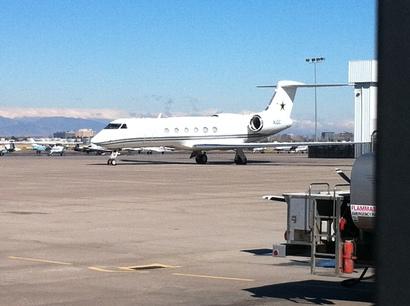 Jerry Jones Plane Dallas Cowboys owner J...