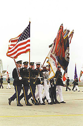 Joint-services-color-guard-