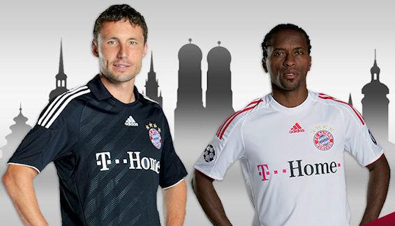 Mark & Ze in the new Bayern Jerseys