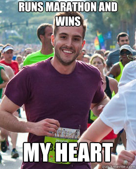 photogenic runner meme