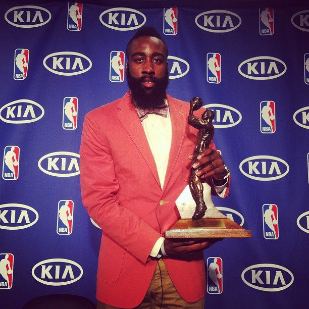 James Harden Yearly Stats: James Harden, World's Most Interesting 6th Man Of The Year