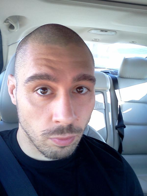 frank mir shaved