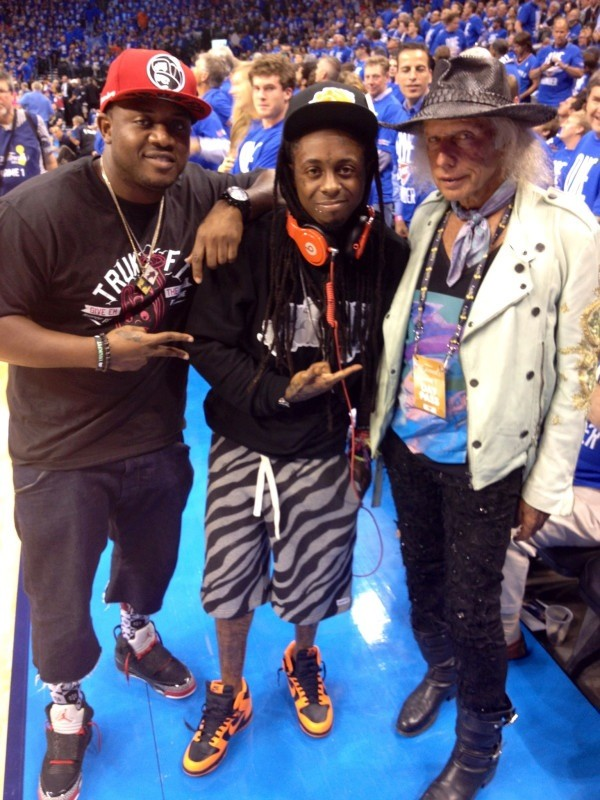 Lil Wayne And Jimmy Goldstein Are Bros - SBNation.com