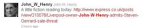 Twitter - Search - john w henry_1289140198468