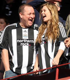 mike ashley laughing terrible
