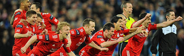 liverpool cup celebrate penalties